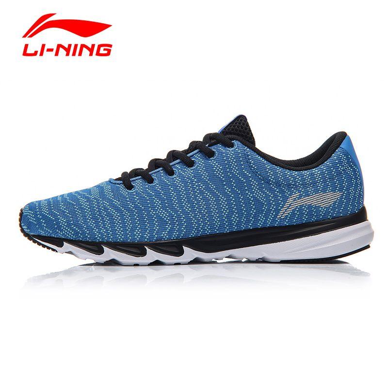 Li-Ning Men Blast Light Breathable Running Shoes Li Ning Textile Comfort Running Sneakers LINING Anti-Slip Sports Shoes ARBM115