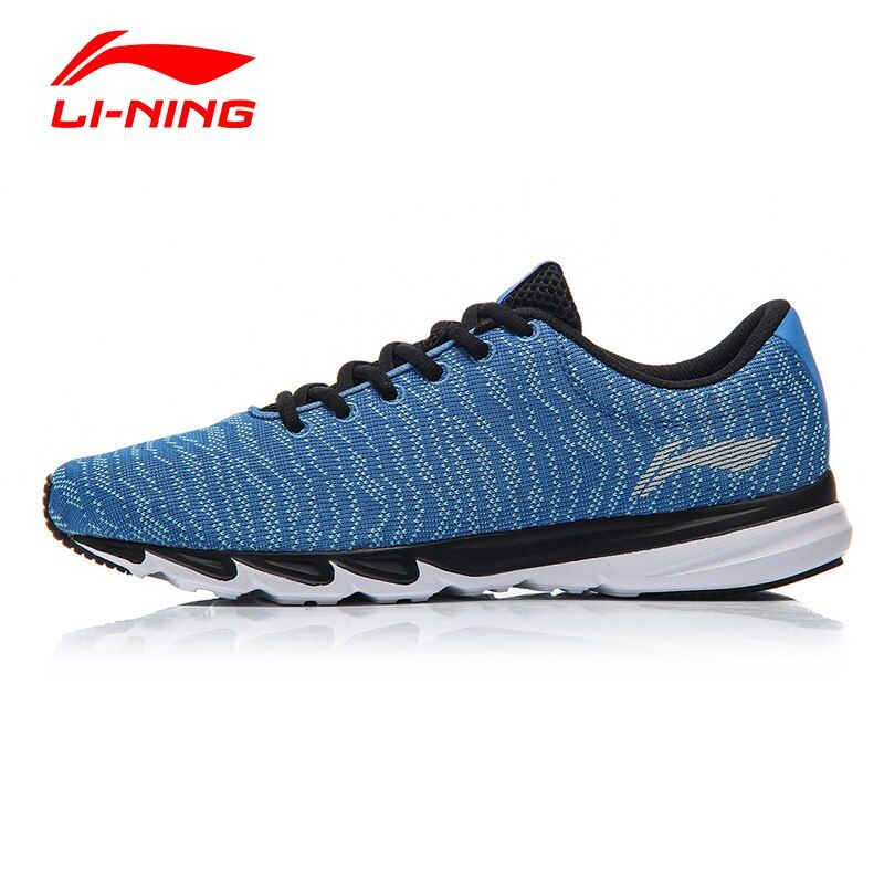 Li Ning Männer Explosion Licht Atmungsaktiv Laufschuhe Li Ning Textil Komfort Laufschuhe FUTTER Anti-rutsch Sport schuhe ARBM115