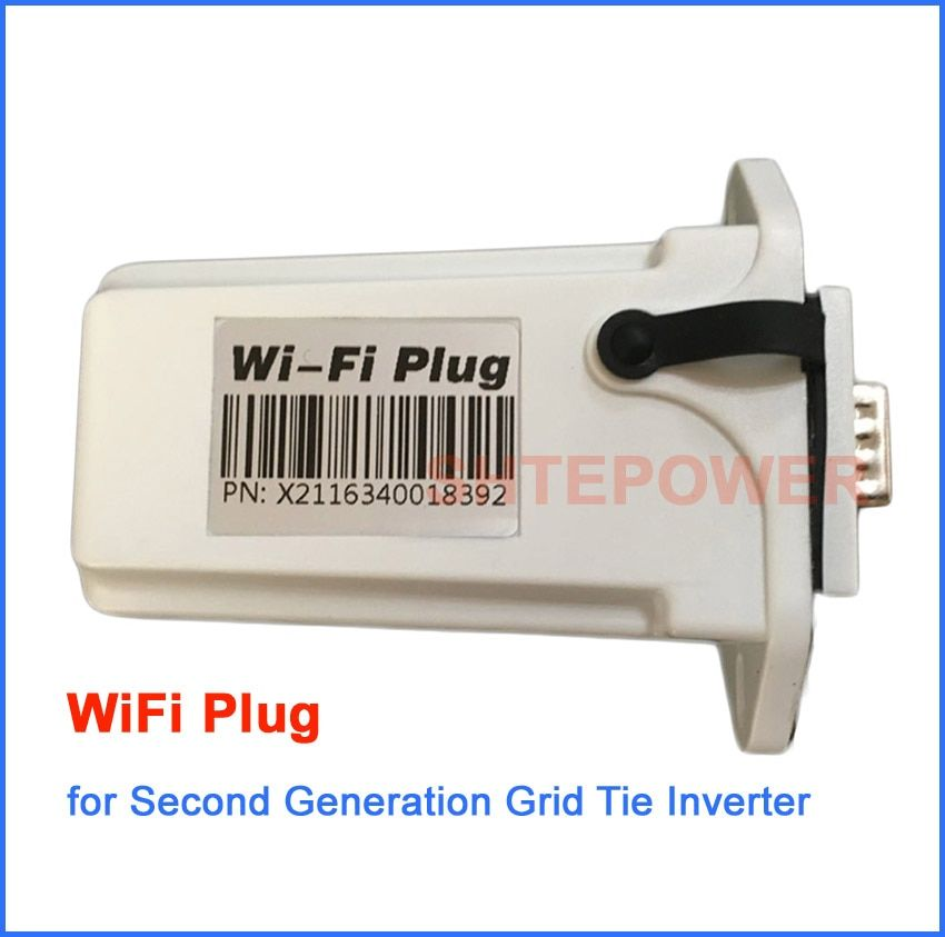 Second Generation MPPT Solar &Wind Grid tie conntected Inverter Wifi Plug