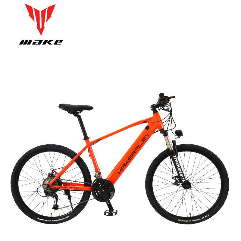Machen elektrische fahrrad 350W aluminium rahmen 27,5 zoll räder 27 geschwindigkeit SHIMAN0 ALТUS