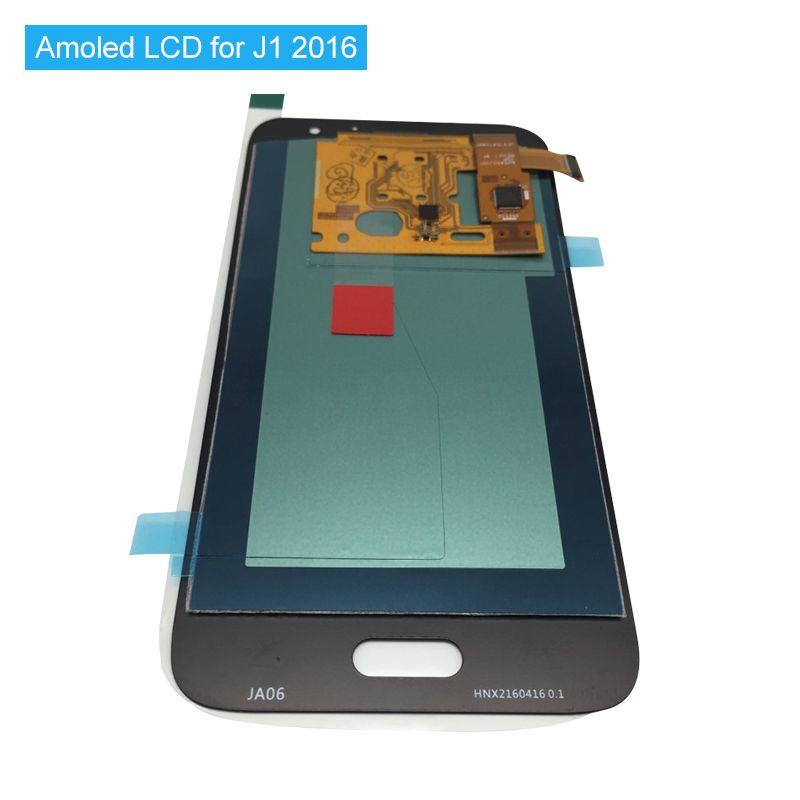 Amoled Lcd Screen Für Samsung Galaxy J120 2016 J120F J120H J120M Lcds Display Touch Digitizer Montieren Hohe Qualität J120 Lcd