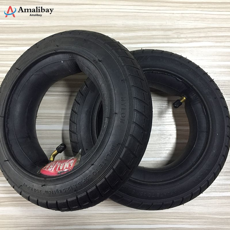 10 Inches Updated Xiaomi M365 Tire Scooter New Version Tyre Inflation Wheel Tubes Outer Tires for Xiaomi M365 Electric Scooter