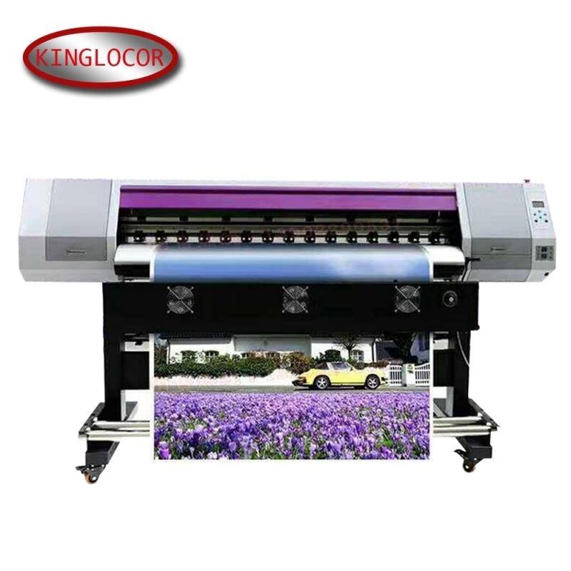 2160 Dpi Hohe Auflösung tinte Auf Wasserbasis Druck Maschine Maintop Software Backlit Leinwand Eco Lösungsmittel Drucker Große Format