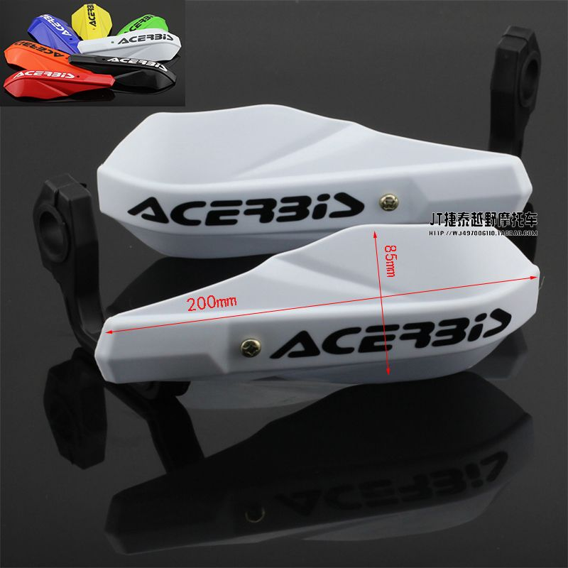 Plastic Handle bar Brush Hand Guards Handguard Protector Protection Pit Dirt Bike Motorcycle CRF YZF KTM EXC KXF RMZ Motocross