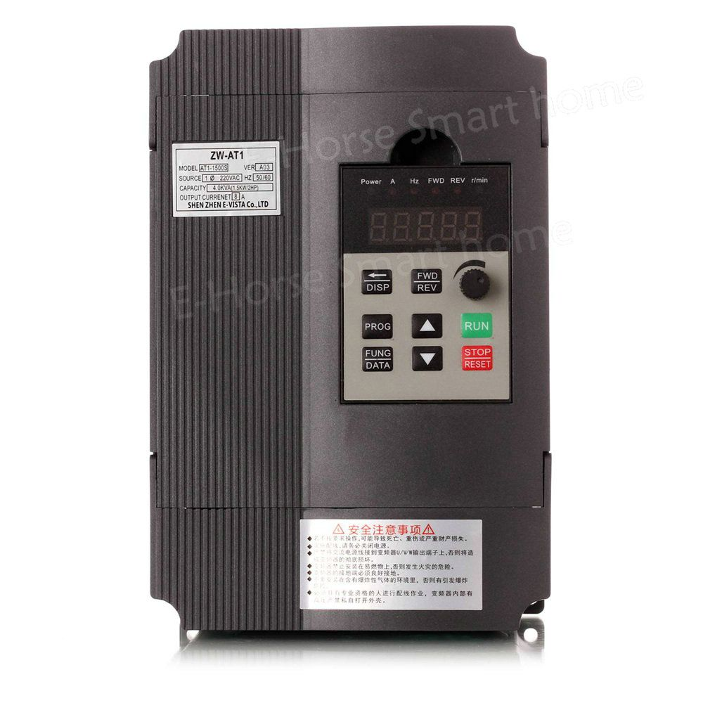VFD 1.5KW/2.2KW CoolClassic frequency converter ZW-AT1 3P 220V output Free Shipping 8A-12A