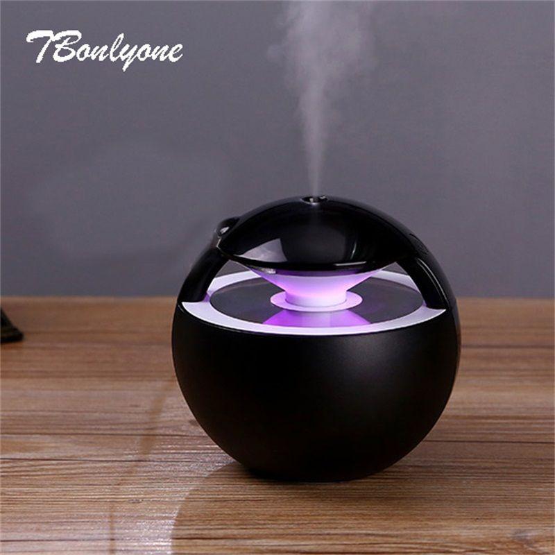 TBonlyone 450 ml Humidificateur D'air Huile Essentielle Diffuseur Aromathérapie Lampe Électrique Aroma Diffuseur Mist Maker Humidificateur pour La Maison
