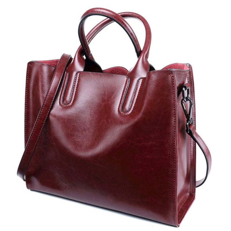Luxury 100% Genuine Leather Women Handbags Designer Brand Cowhide Real Skin Women Shoulder Messenger Bags Totes Bolsa Feminina