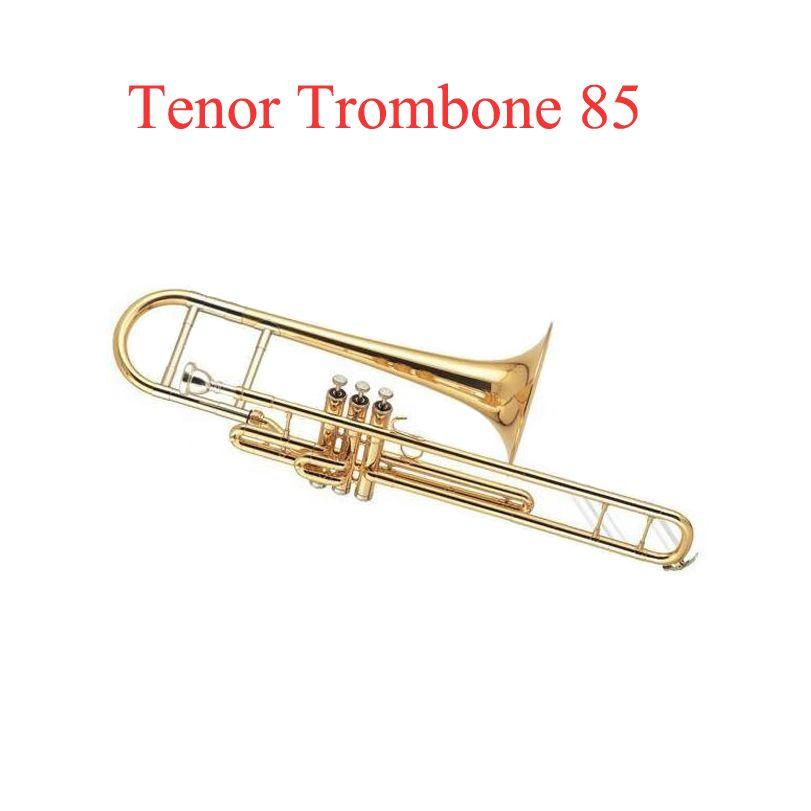 Three Key Tenor Trombone 85 Alloy Copper Speaker Tuba Brass Instrumentos Musicais Profissional Valve Trombone