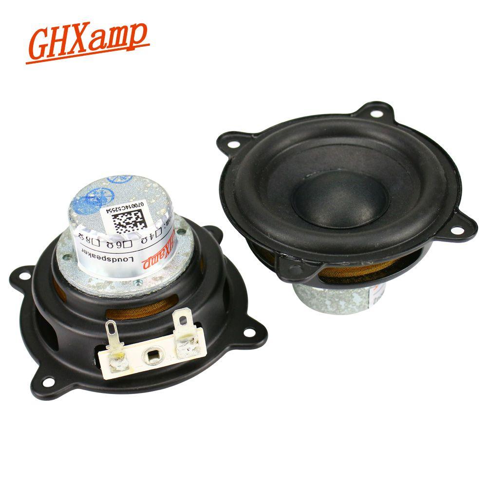 GHXAMP 2.5 INCH 15W For Pill XL Speaker Woofer Full Range Neodymium Portable Speaker Car CD Amplifier Speaker Buletooth Rusty