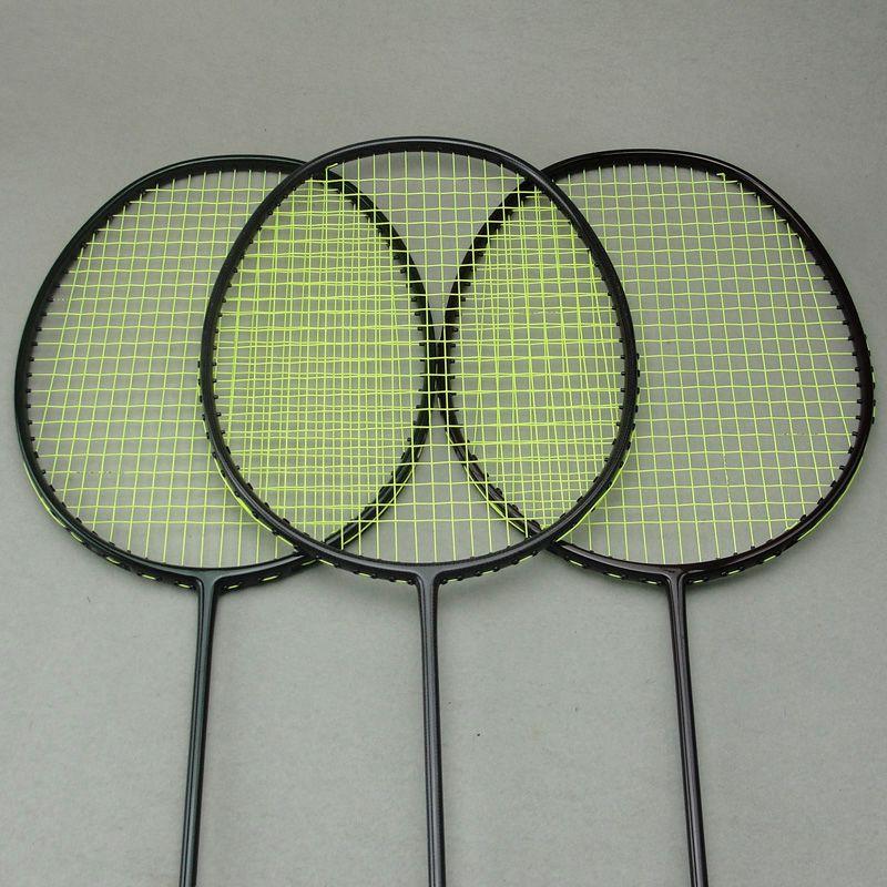 5U 30lbs woven carbon faser nationalen team badminton schläger 3 farben