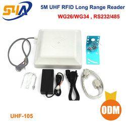 915MHz UHF RFID Long Range Reader include ISO18000-6C (EPC C1G2) cards and UHF Sticker