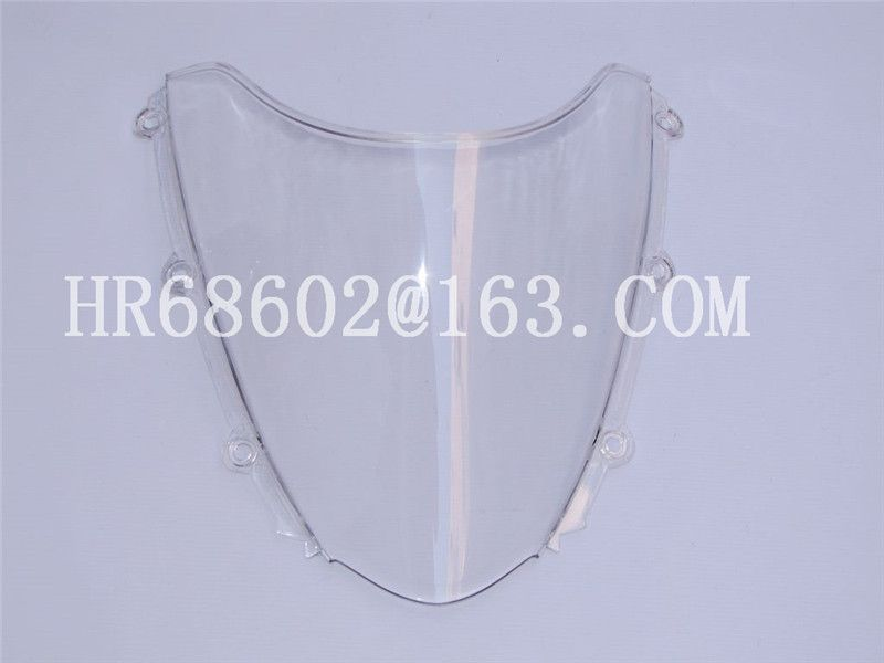 For Honda CBR 1000 RR 2004 2005 2006 2007 White Windshield WindScreen Double Bubble cbr 1000 rr CBR1000 cbr1000 CBR1000RR