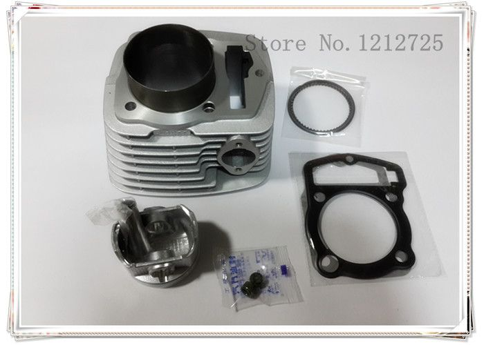 Cross-country motorcycle CQR250 CB250 a sleeve cylinder Diameter 65.5mm the piston pin is 15mm