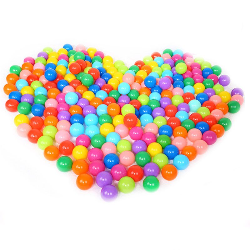 25pcs/50pcs/100pcs/lot Colorful Plastic Ball Pool Eco-Friendly Ocean Balls for The Pool Stressball Funny Ball Toys