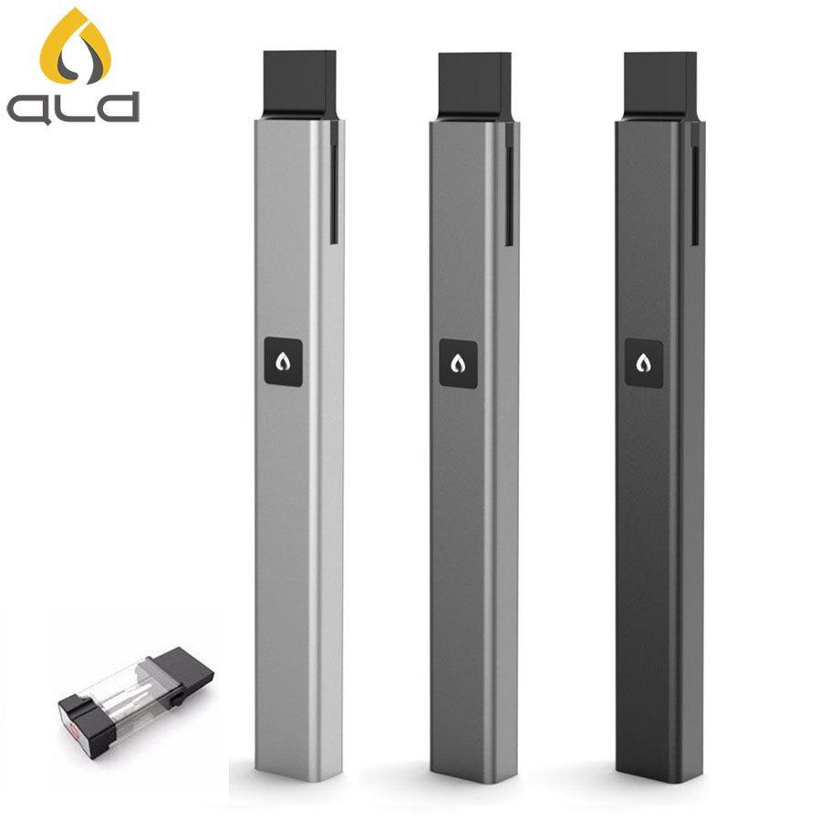 Cigarrillo Electrónico Original ALD Vfire ultrafino pluma vape vaporizador atomizador cigarrillo electrónico kit de inicio con Bobina de cerámica