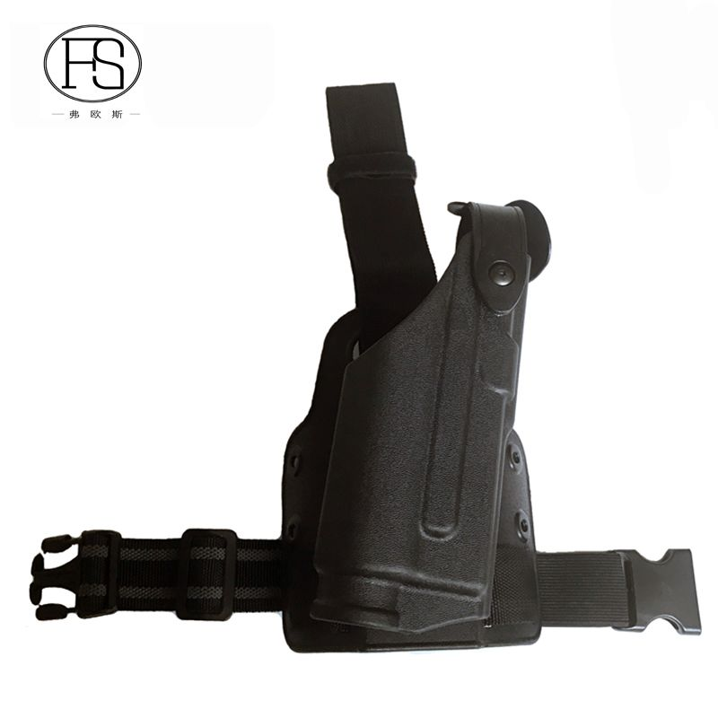 Tactical Glock Holster With Flashlight Pistol Holster Fit For Glock 17 19 22 23 31 32 Hunting Shooting Gun Holster