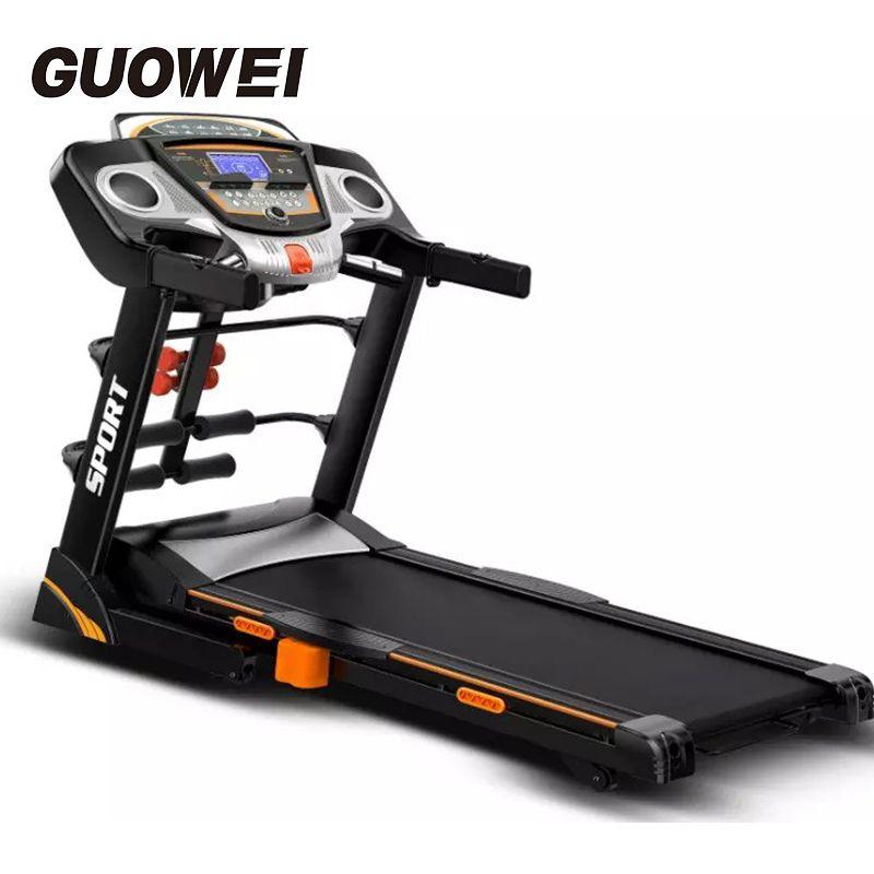 Haushalt elektrische laufband Tragbare Running Training Fitness Maschine schwarz Laufband Heimgebrauch körper gebäude ausrüstung