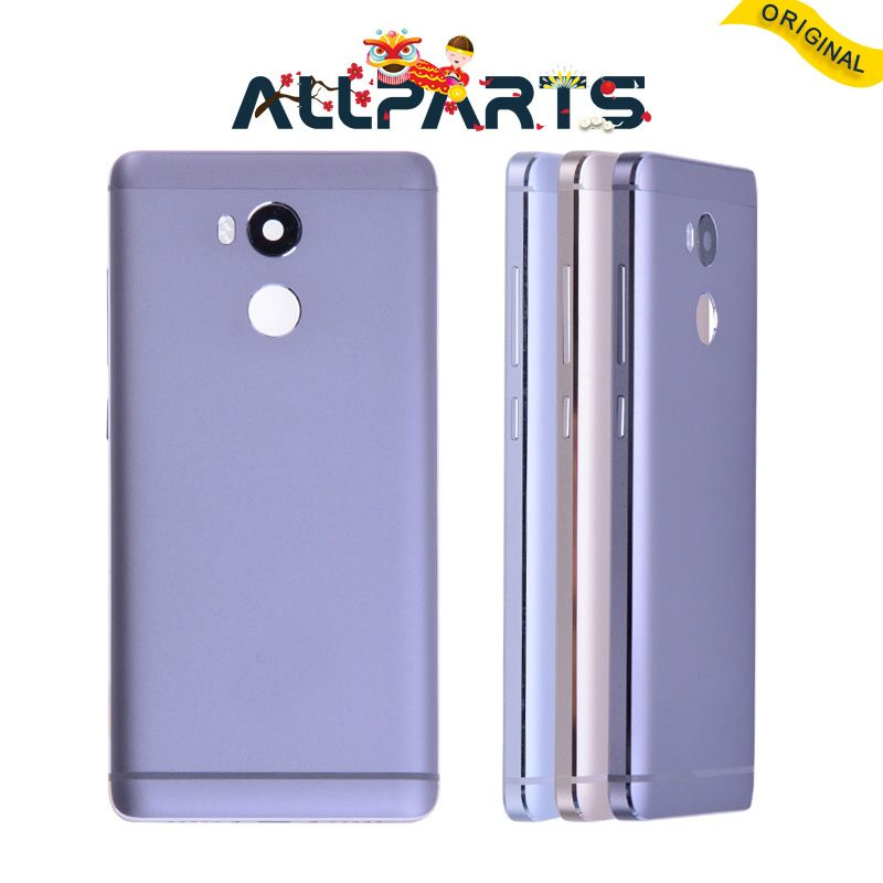 Original Rear Back Housing for XIAOMI Redmi 4 Prime Back Cover Battery Door For Redmi 4 Pro With Door Volume Power Button