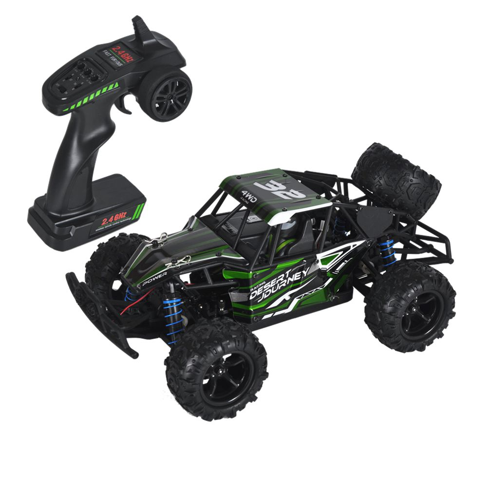 1:18 50km/h Remote-Controlled RC Car 4WD Radio-Controlled Cars Truck Buggy High speed Machine on the Remote Control Car Off-Road