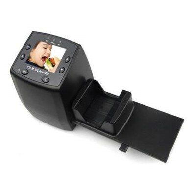 2016 New high quality 5MP 35mm Negative Film Slide Viewer Scanner USB Digital Color Scanner Screen display childhood Film photo