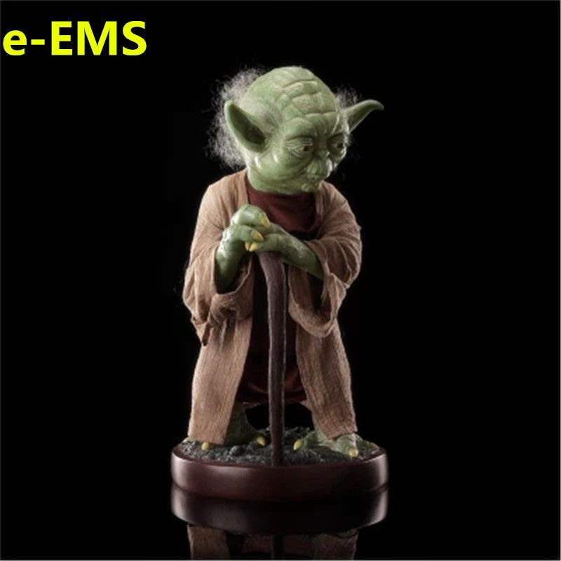 Anime Star Wars The Last Jedi 85CM Master Yoda Resin Sculptures 1/1 Action Figure Collection Model Giocattolo G1538