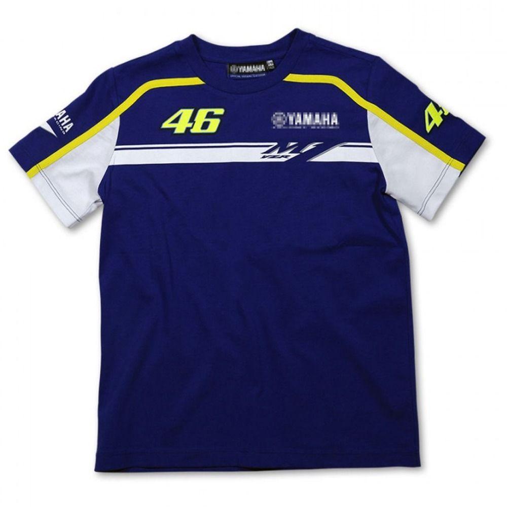 free shipping 2016 NEW MotoGP Valentino Rossi VR46 Rossi Yama m1 T-Shirt Moto GP T-Shirt T shirt