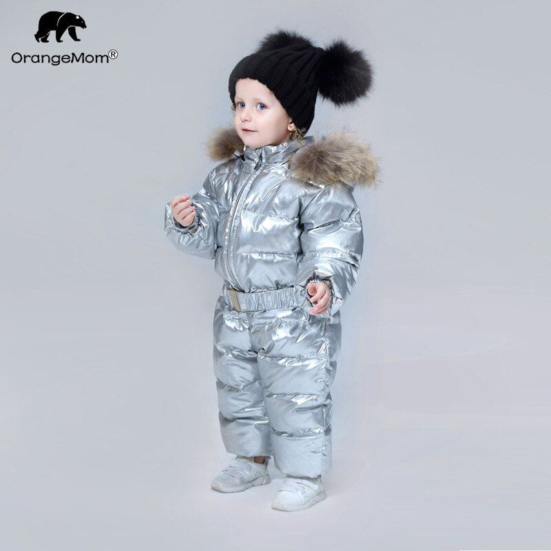 Orangemom brand 2018 winter Baby clothes Children's Clothing duck down Coats for Girls jacket kids boys jumpsuits cool snowsuits