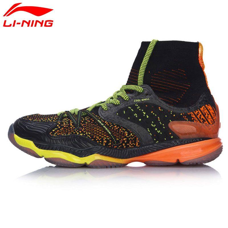 Li-Ning Männer Ranger Professionelle Badminton Schuhe High Cut Kissen BOUNSE + Futter Sport Schuhe Turnschuhe AYAM009 XYY047