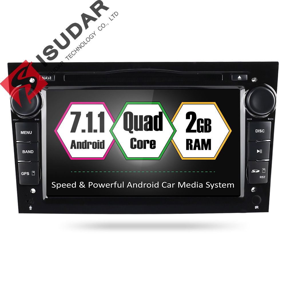 Wholesales Android 7.1.1 7 Inch Car DVD Player For OPEL/ASTRA/Zafira/Combo With Canbus GPS Navigation RadioWIFI Quad Core 1.6GHZ