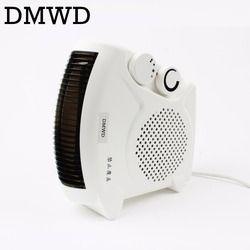 Multifonction Chaud & Cool Air Ventilateur Ménage portable Infrarouge Électrique Chauffe warmer refroidisseur bureau Conditionné ventilateur de refroidissement L'UE