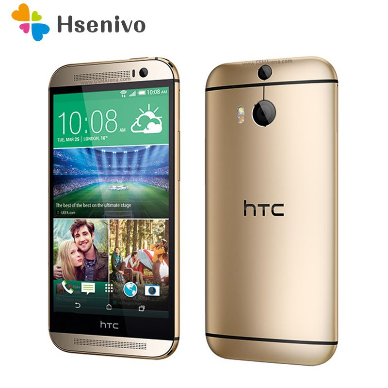 Hot sale Original HTC One M8 Unlocked GSM/WCDMA/LTE Quad-core RAM 2GB ROM 32GB Cell Phone HTC M8 5.0 3 Cameras mobile Phone