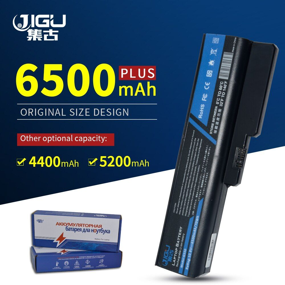 JIGU Laptop Batterie Für Lenovo N500 G550 Für IdeaPad G430 V460 Z360 B460 L08S6Y02 6 Zellen