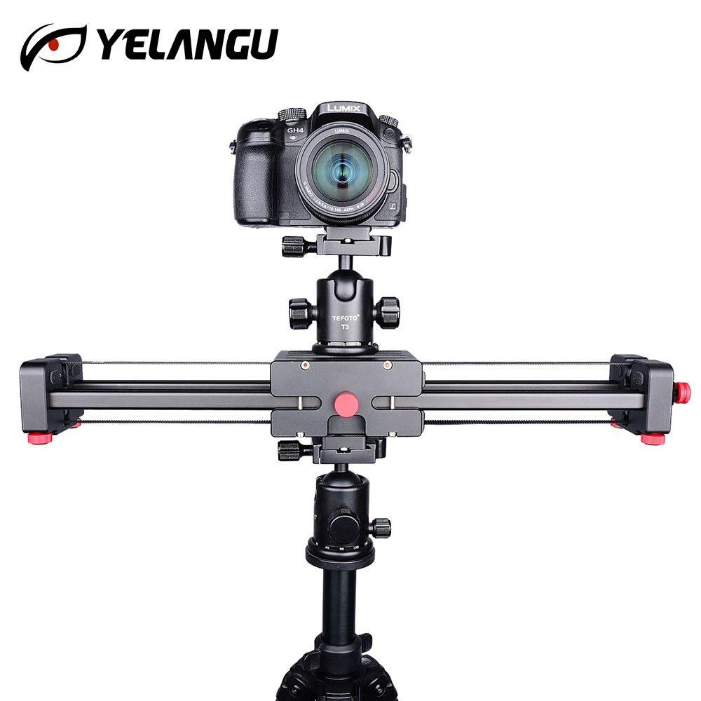 Kamera Video Dolly 50 cm Schiene Stabilisator Doppel Abstand 100 cm Schiebe für Canon Nikon Sony DSLR DV Kamerawagen