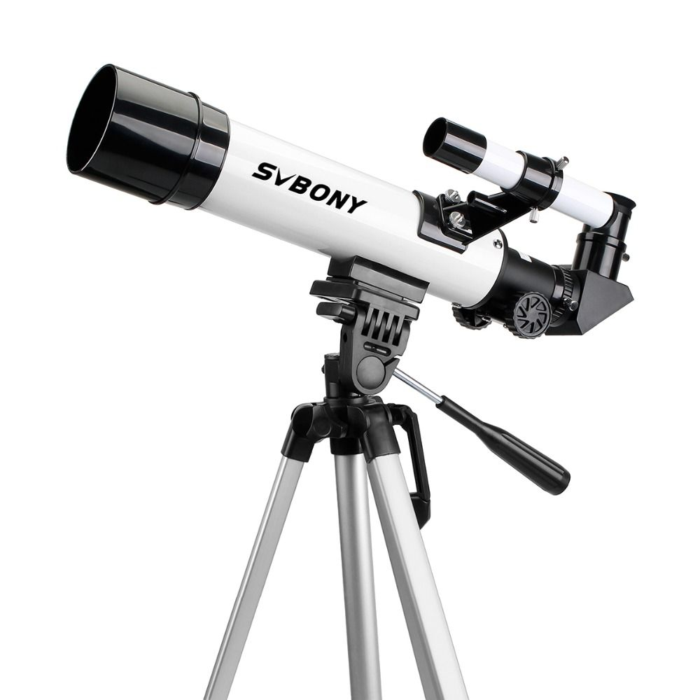 SVBONY SV25 Astronomy Telescope 60/420mm Refractor for Beginner School with Cell Phone Mount Adapter Professional F9304