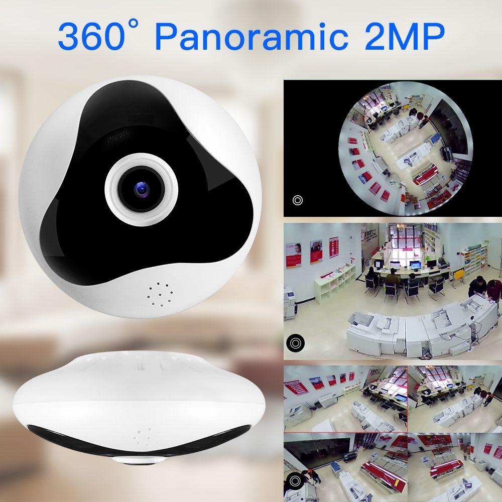 SDETER 1080P 960P 360 Degree CCTV IP Camera Network Home Security Camera WIFI Panoramic IR Night Vision Surveillance Camera IP