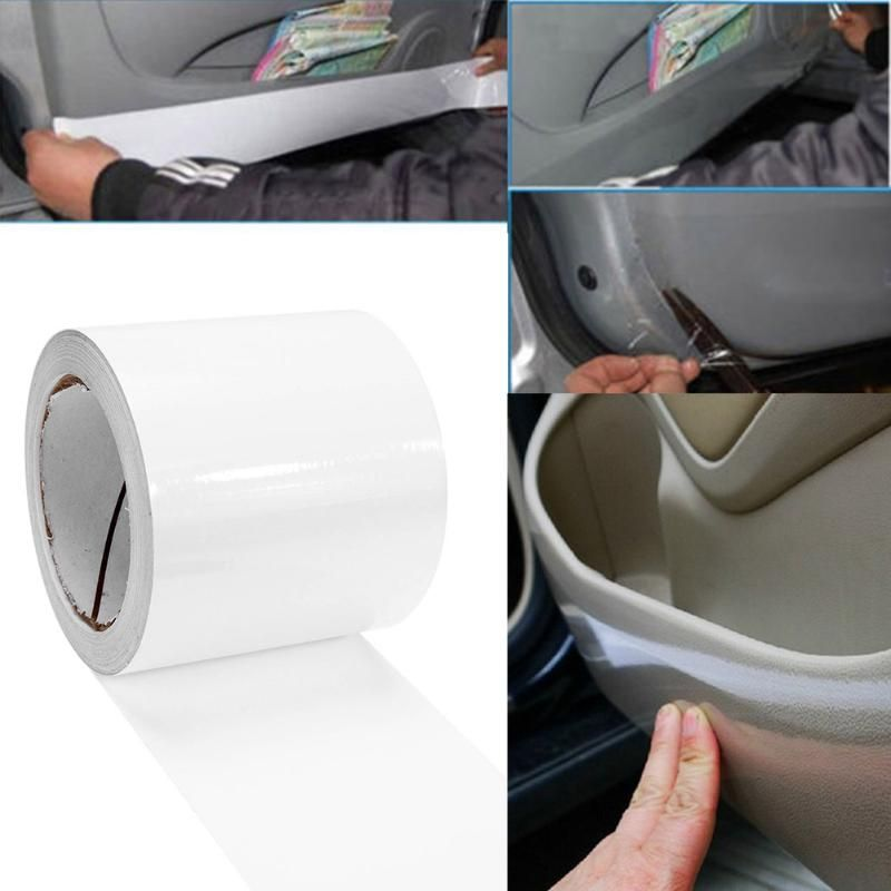 VODOOL 18m Semi-clear OPVC Adhesive Wrap Car Film Sticker Auto Door Edge Paint Anti-scratch Protective Film Sticker