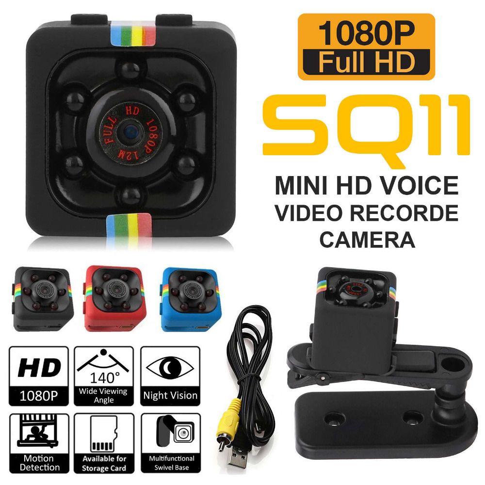 Travor D'origine SQ11 Mini Caméra 1080 p 720 p Enregistreur Vidéo Numérique Cam Micro Full HD IR Nuit Vision Plus Petit DV DVR Caméscope