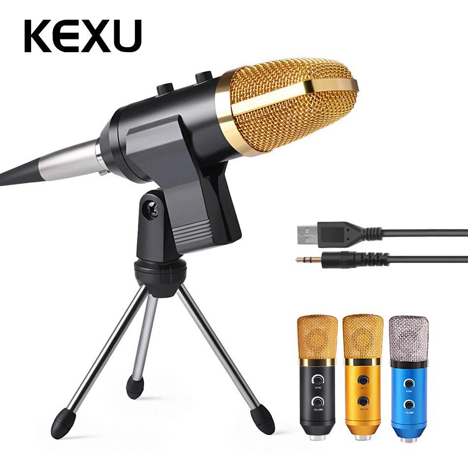 ML-F100TL USB Microphone À Condensateur Professionnel Microphone pour L'enregistrement Vidéo Karaoké Radio Studio Microphone pour Ordinateur PC
