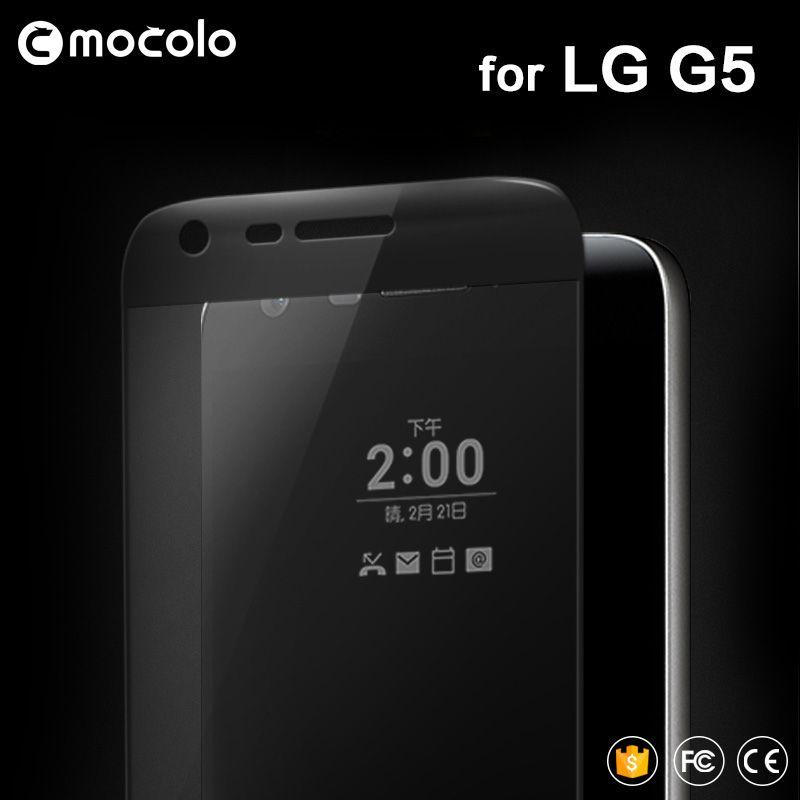 Mocolo 3D Изогнутые полное покрытие Премиум закаленное Стекло Экран протектор для LG G5 h850 мобильный телефон защитный Плёнки для LG g5