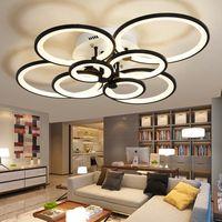 Luces de techo led modernas para sala de estar con control remoto NEO glam