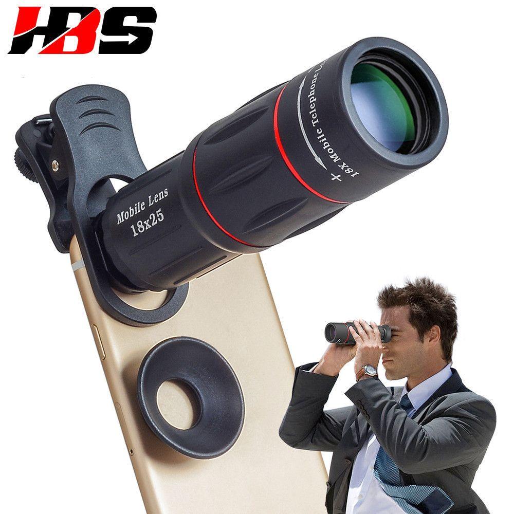 HD 18X Télescope Zoom Mobile Lentille de Téléphone Universel Clip Telefon Caméra Lents Avec Trépied Pour LG G2 G3 G4 G5 g6 G7 G8 V20 V30