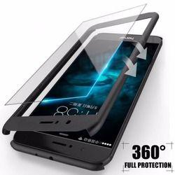360 grados cubierta completa casos para Huawei P10 P9 Lite más caso con vidrio templado teléfono cubierta para Huawei P9 p10 Lite caso