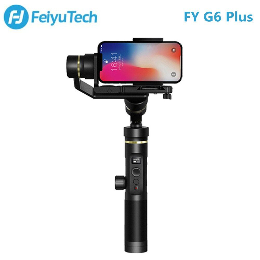 FY FEIYUTECH G6 Plus 3-axis Handheld Gimbal Stabilizer for Action Camera / Digital Cameras / Smartphones