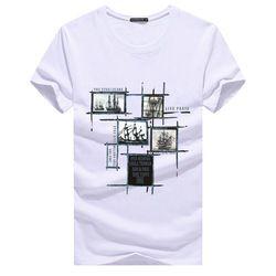 Jalee Man 2018 мужские футболки Плюс Размер 5XL футболка Homme Лето с коротким рукавом мужские футболки Camiseta футболка Homme