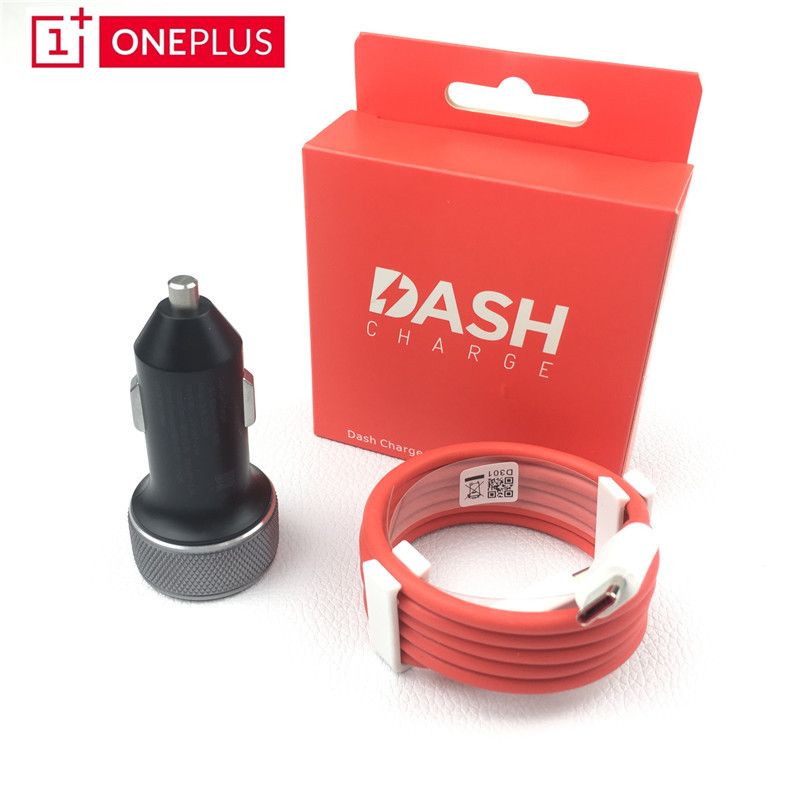 Original Oneplus 6 Dash Car charger 3.4V-5V/3.5A DC01B FAST quick Charge For One plus 5t 5 3T 3 Mobile Phone 100cm Type C cable