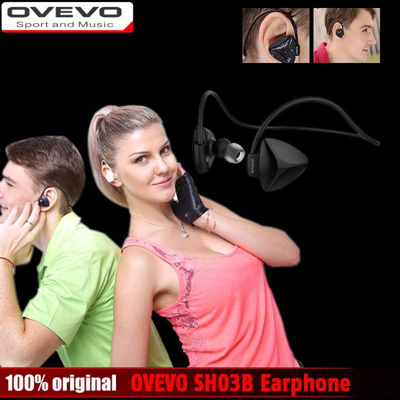 Original OVEVO SH03B Bluetooth Wireless Stereo BT4.0 Sport Earphone Capacitive MIC Sweatproof Dustproof Shockproof