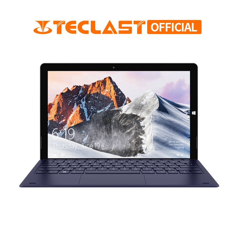 12,6 Zoll 1920*2880 Teclast X6 Pro 2 in 1 Tablet PC Intel M3-7Y30 8 GB RAM 256 GB SSD Windows 10 Touch Screen Laptop Dual Wifi