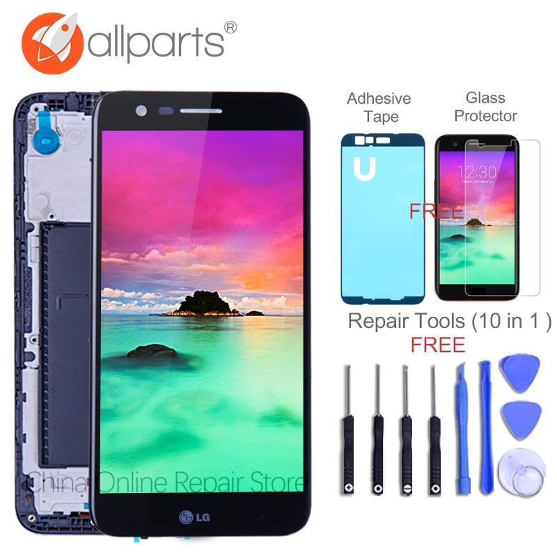 Tested 5.3'' ORIGINAL 1280x720 Display For LG K10 2017 LCD with Touch Screen Digitizer K10 2017 Display M250 M250N M250E M250DS