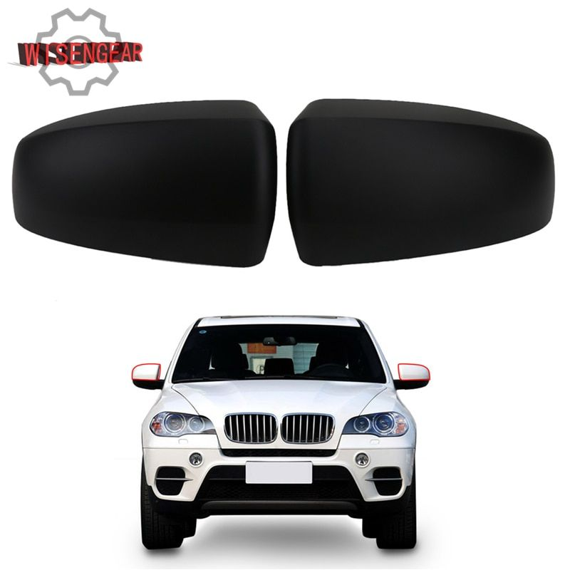 Car Exterior Parts Door Wing Rearview Mirror Cover Mirror Caps For BMW X5 X6 E70 E71 2008 - 2013 W028