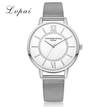 Lvpai Marque Or De Luxe Haute Qualité Casual Genève Alliage Courroie De Mode De Femmes Montres Bracelet Dames Horloge À Quartz Montre